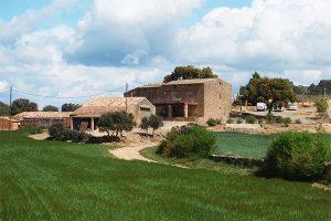 campos naturales que rodean la masia